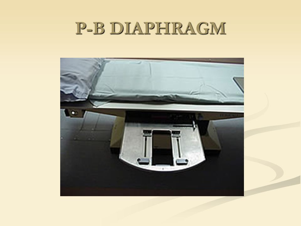 P-B DIAPHRAGM