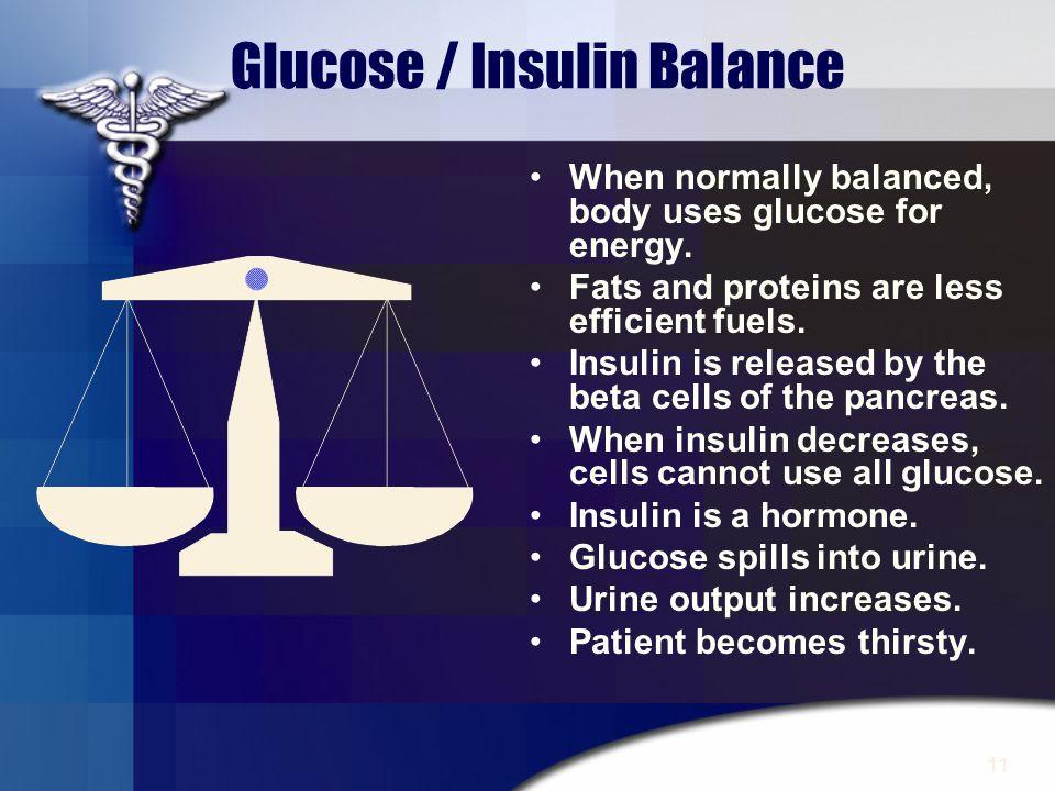 Glucose / Insulin Balance