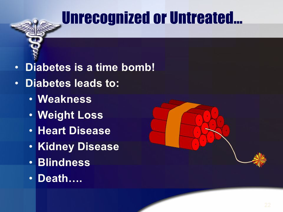 Unrecognized or Untreated...