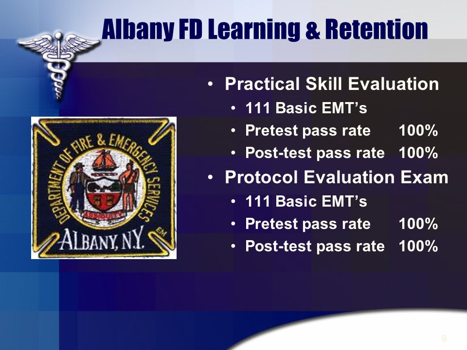 Albany FD Learning & Retention