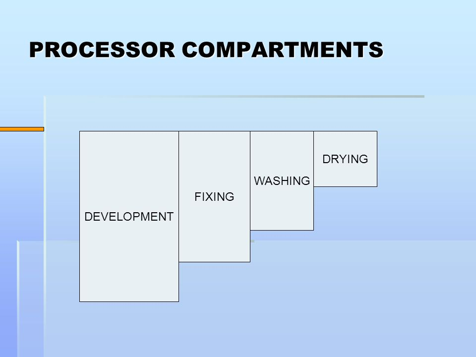 PROCESSOR COMPARTMENTS