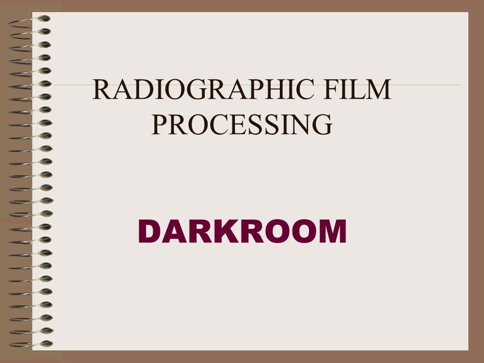 Radiographic film processing darkroom ppt video online download.