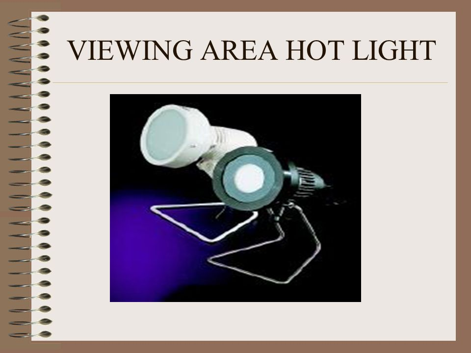 VIEWING AREA HOT LIGHT