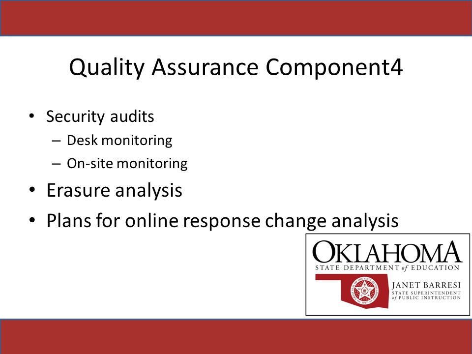 Quality Assurance Component4