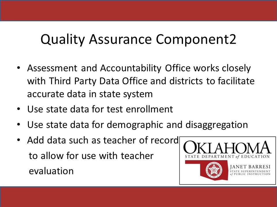 Quality Assurance Component2