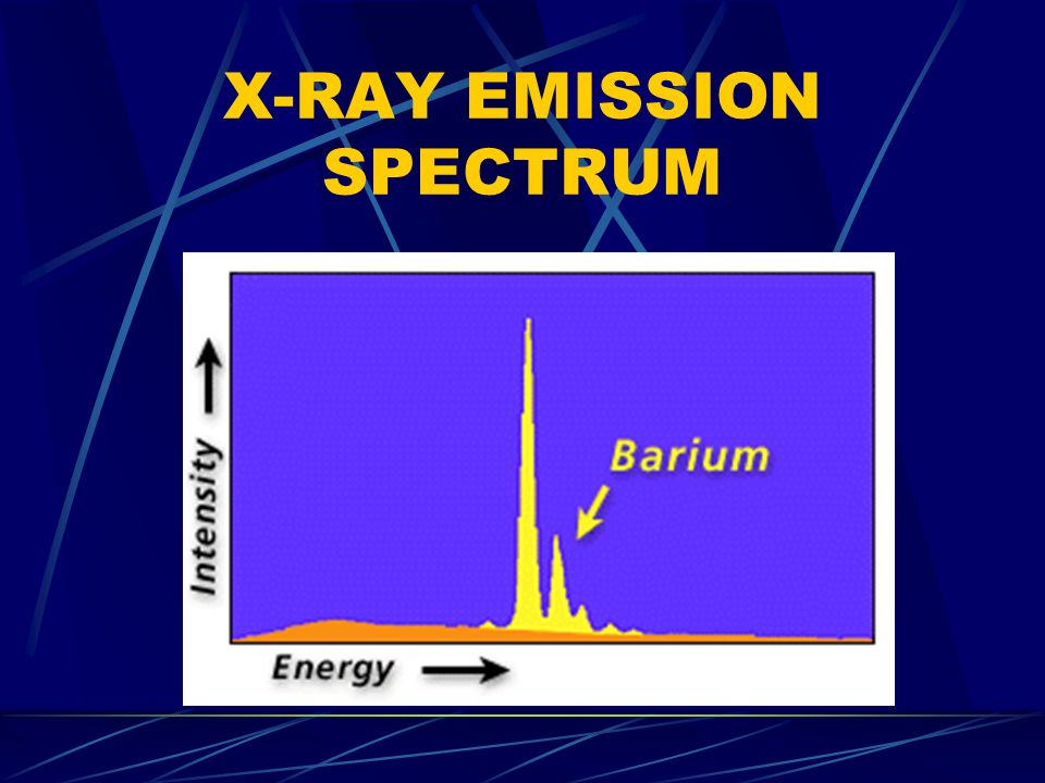 X-RAY EMISSION SPECTRUM