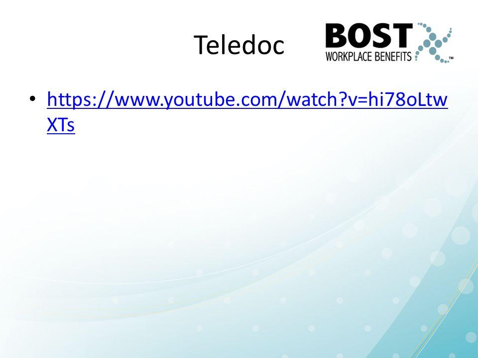 Teledoc https://www.youtube.com/watch v=hi78oLtwXTs