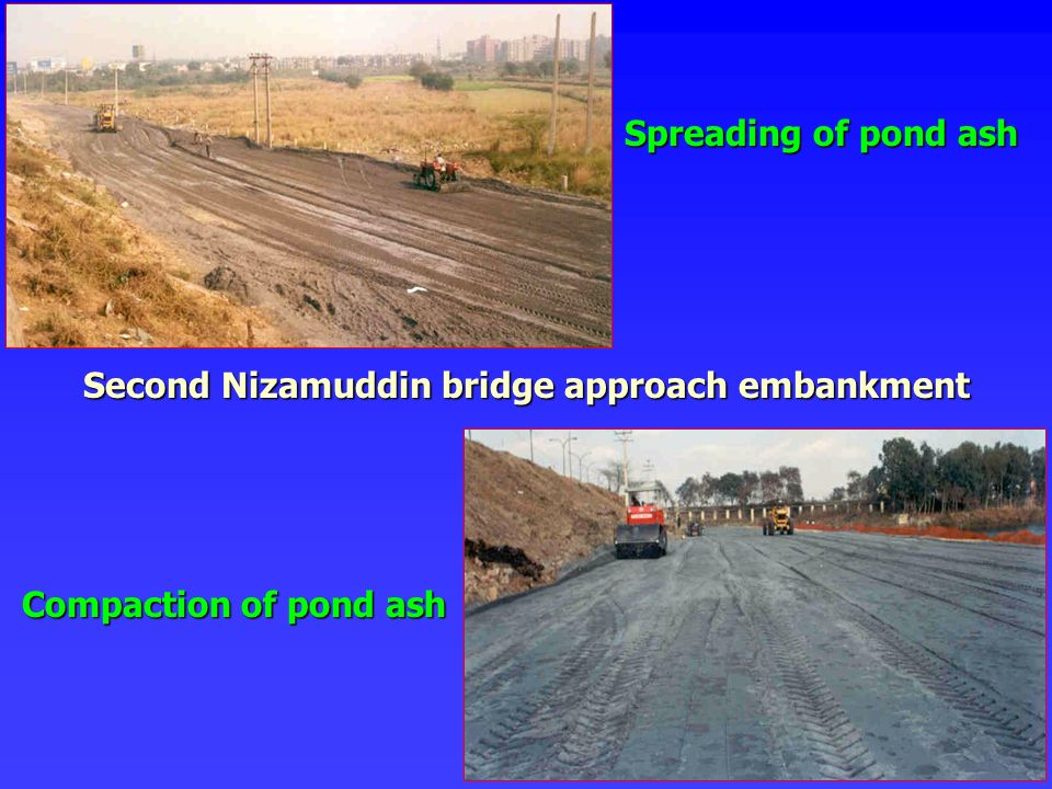 Second Nizamuddin bridge approach embankment