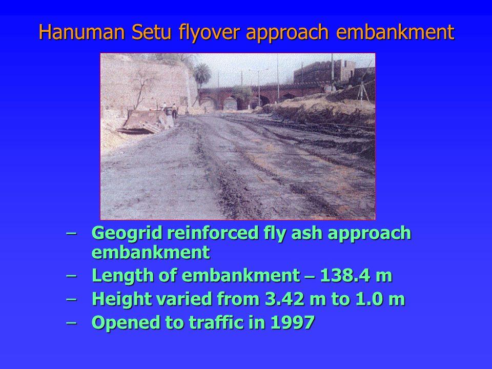 Hanuman Setu flyover approach embankment
