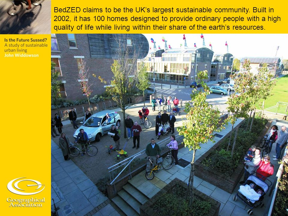 BedZED claims to be the UK's largest sustainable community