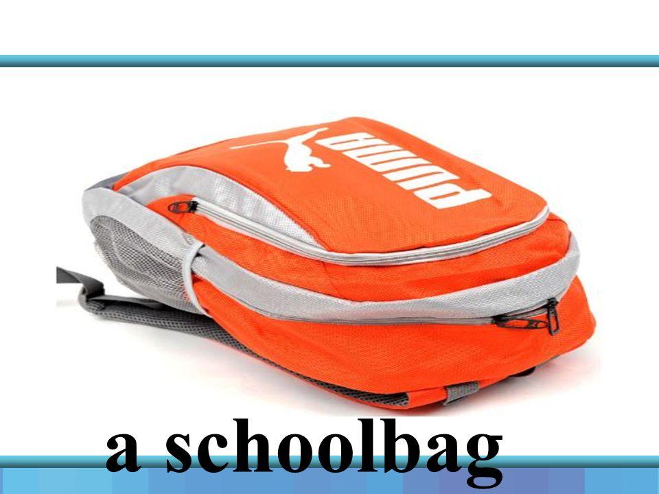 a schoolbag