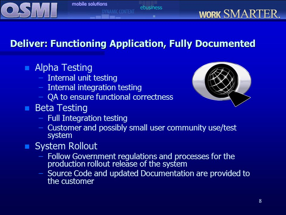Deliver: Functioning Application, Fully Documented