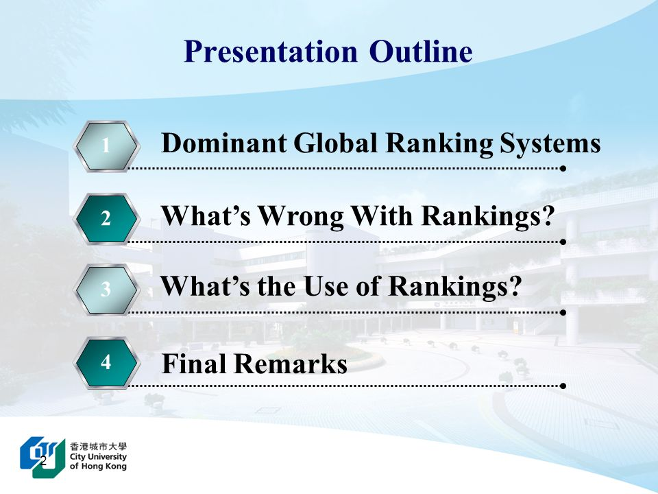 Dominant Global Ranking Systems