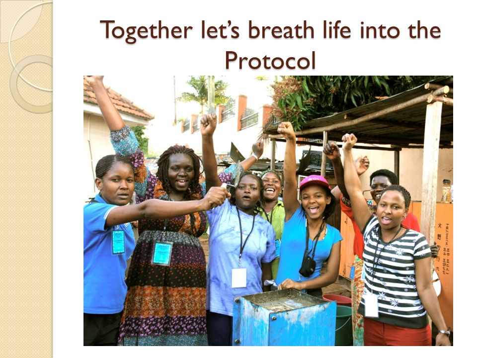 Together let's breath life into the Protocol