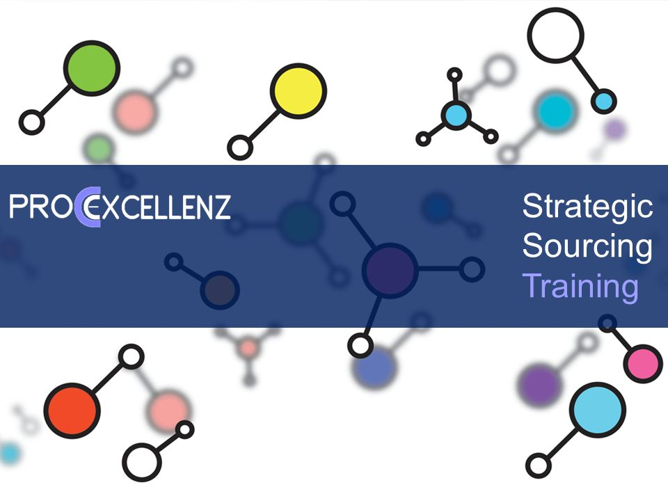 Strategic Sourcing Training