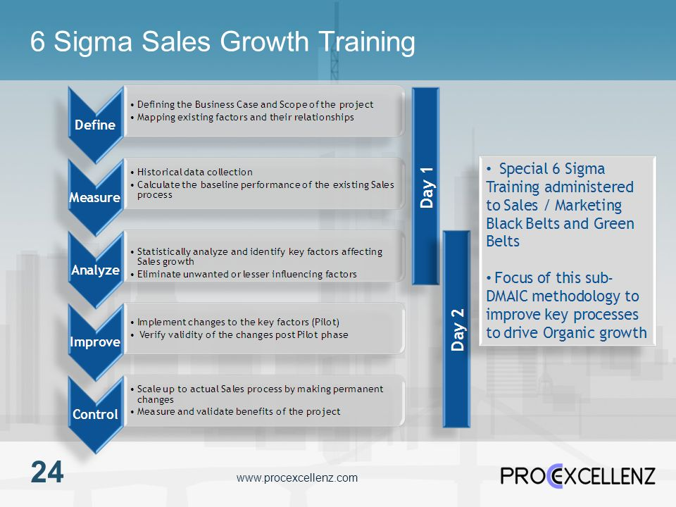 6 Sigma Sales Growth Training
