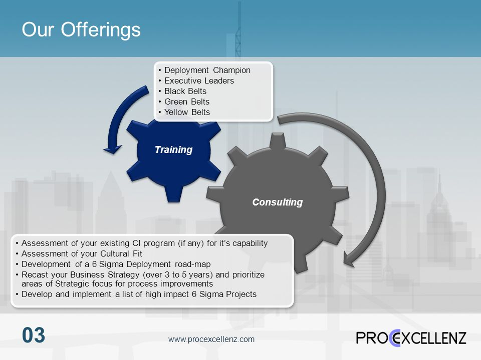 03 Our Offerings Consulting Training