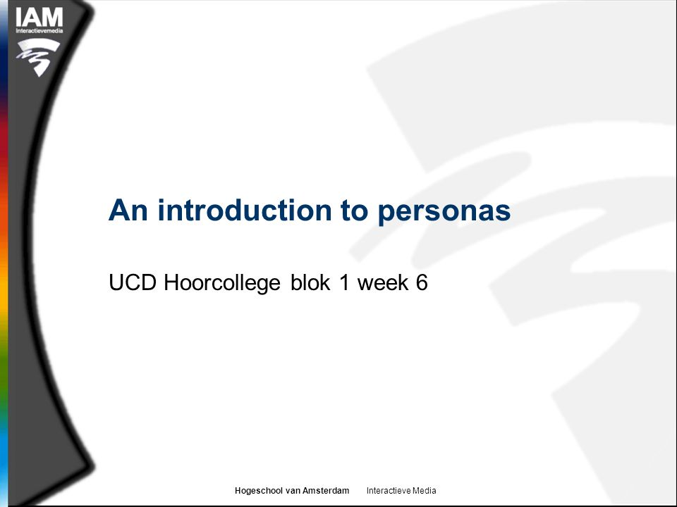 An introduction to personas