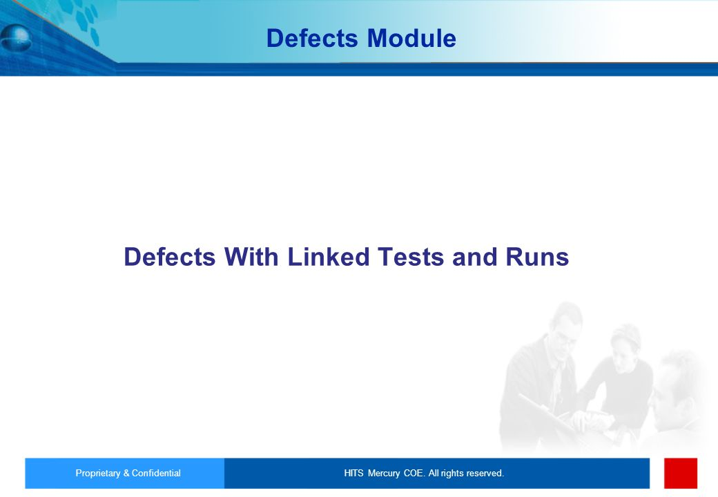 Defects With Linked Tests and Runs