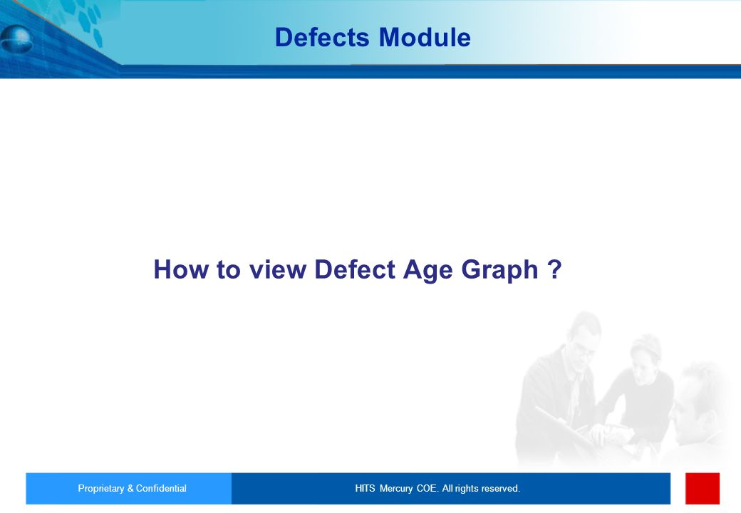 How to view Defect Age Graph