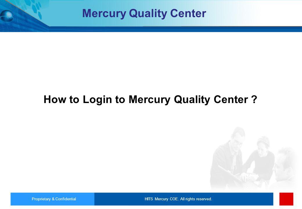 Mercury Quality Center