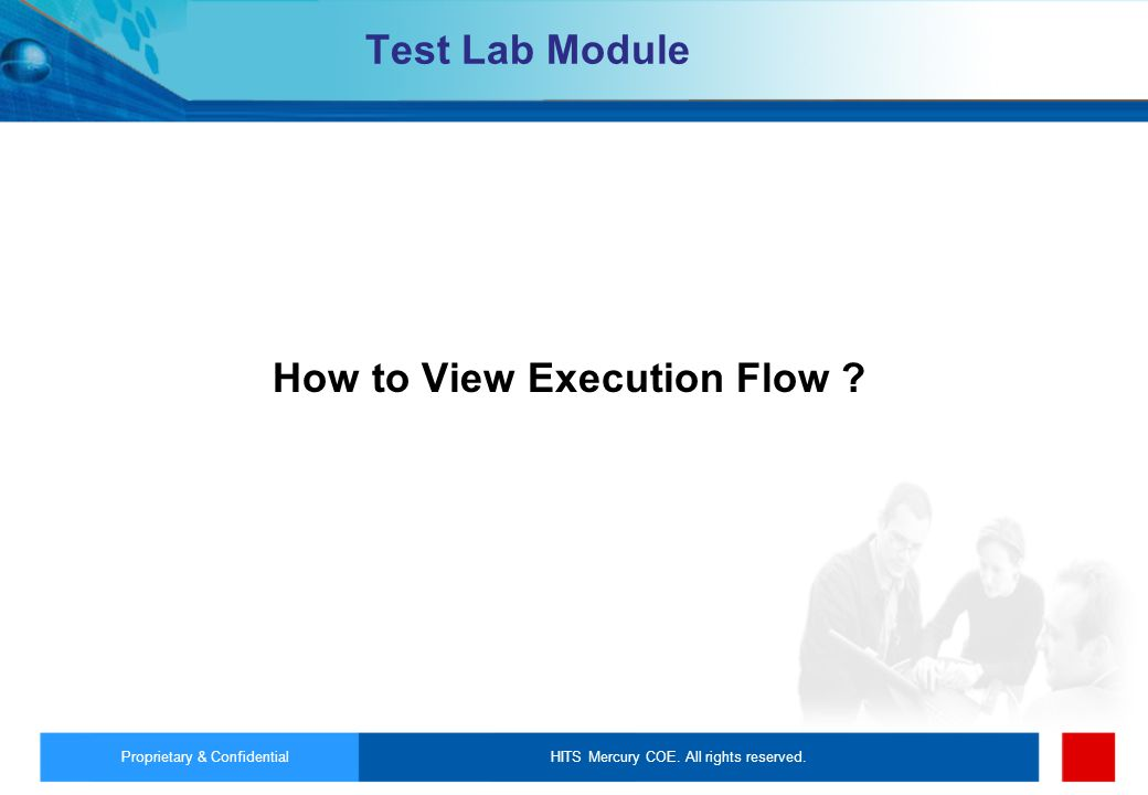 How to View Execution Flow
