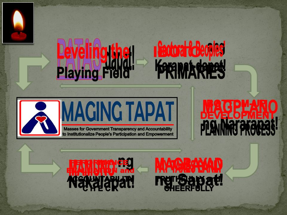 Masses for Government Transparency and Accountability