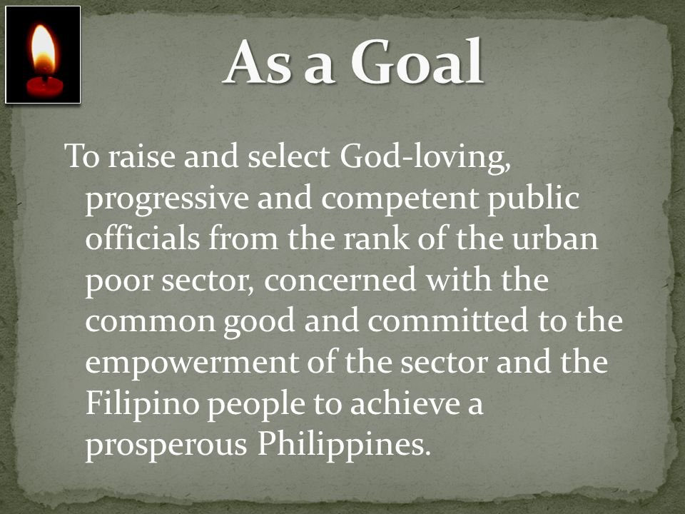 As a Goal