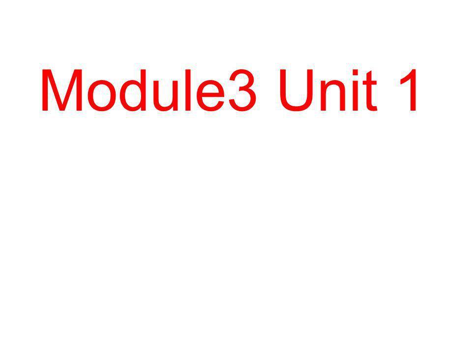 Module3 Unit 1