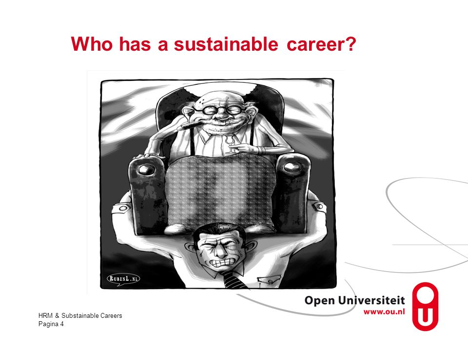 Who has a sustainable career