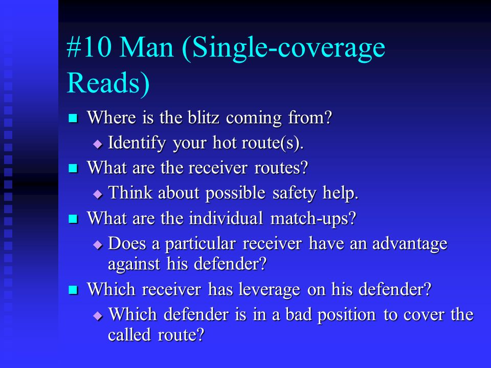 #10 Man (Single-coverage Reads)