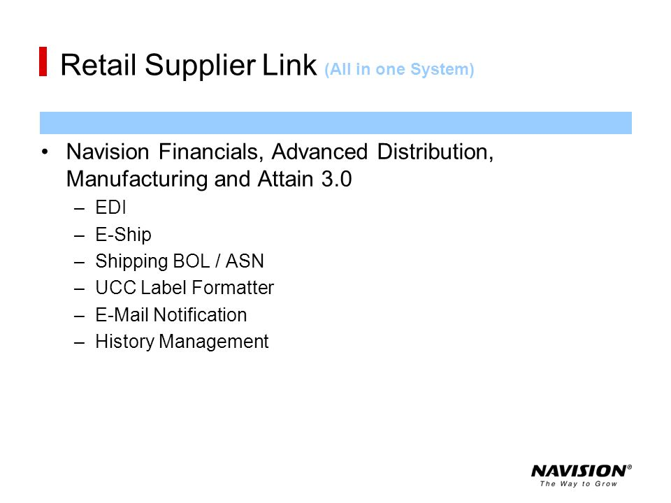 Retail Supplier Link (All in one System)