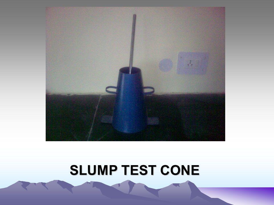 SLUMP TEST CONE