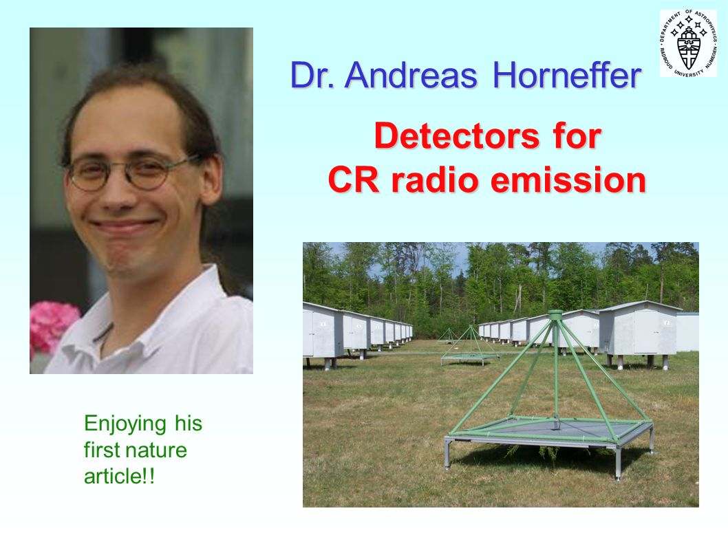 Detectors for CR radio emission