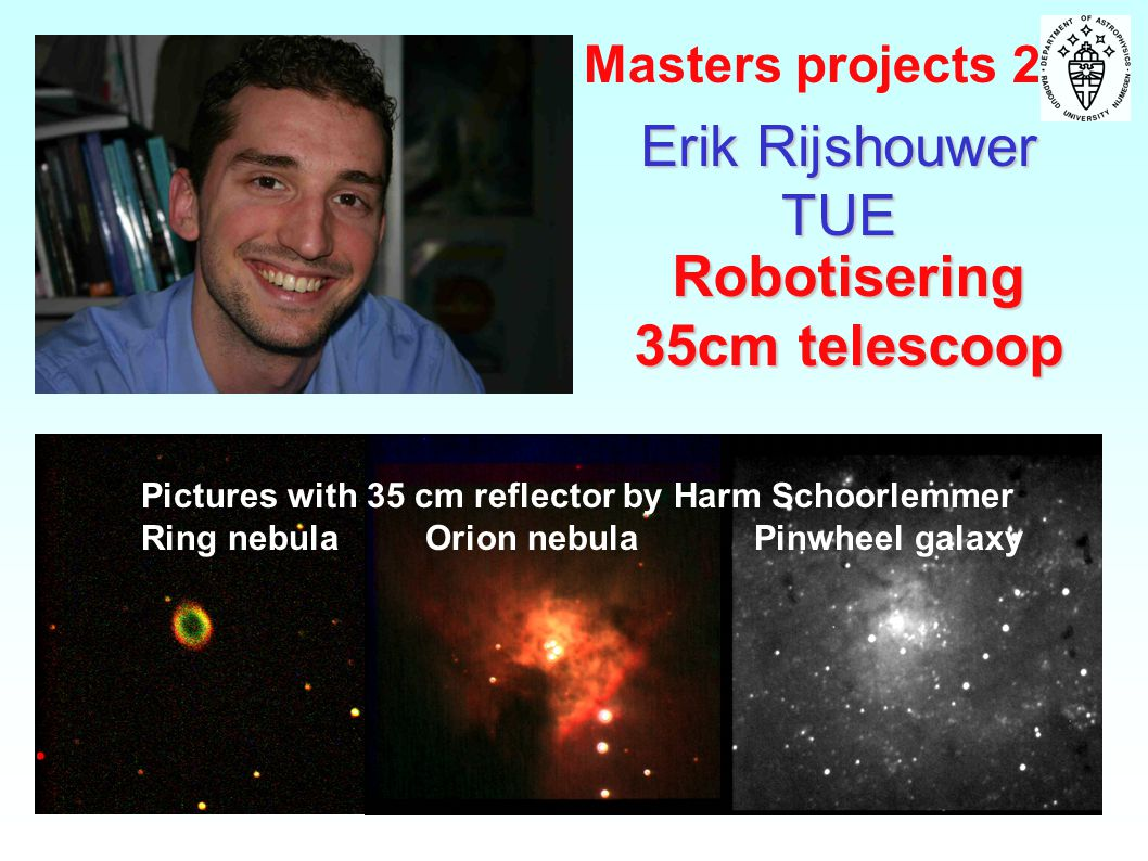 Robotisering 35cm telescoop