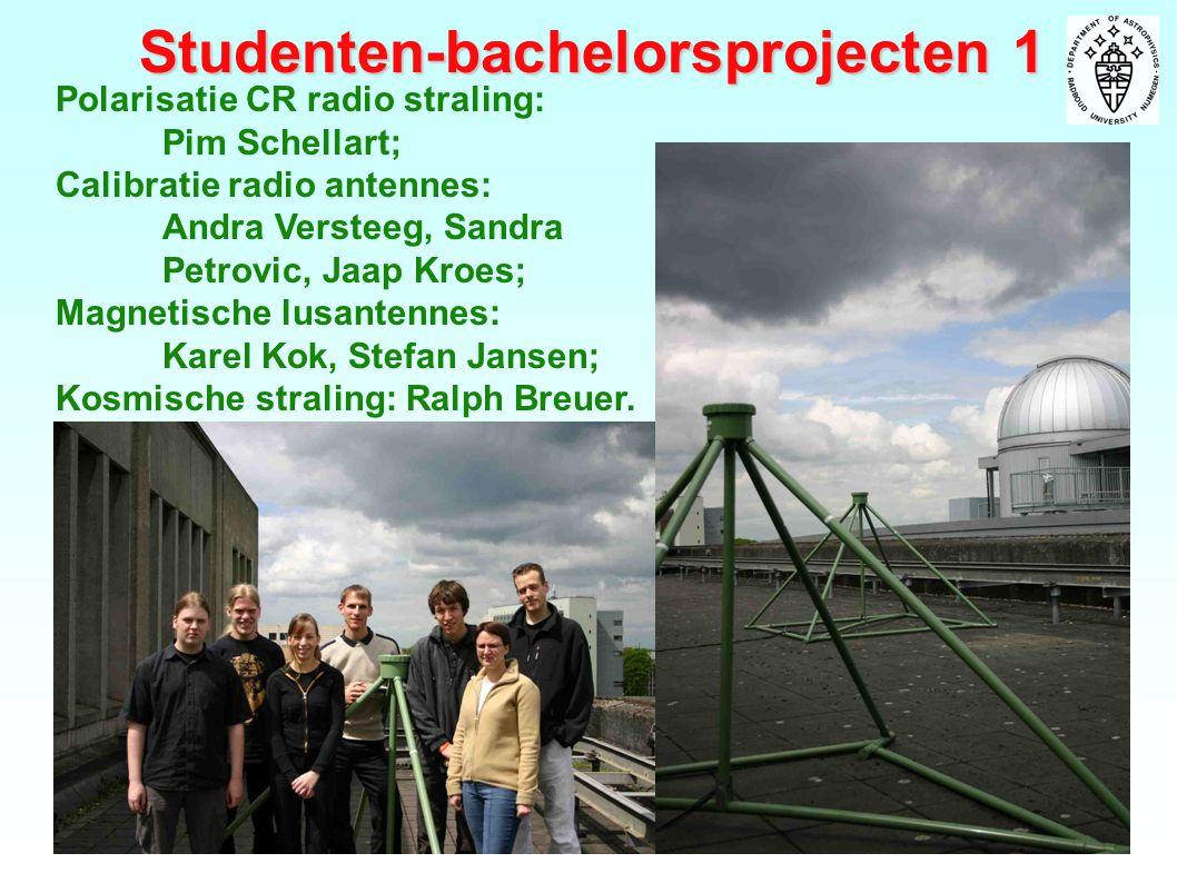 Studenten-bachelorsprojecten 1