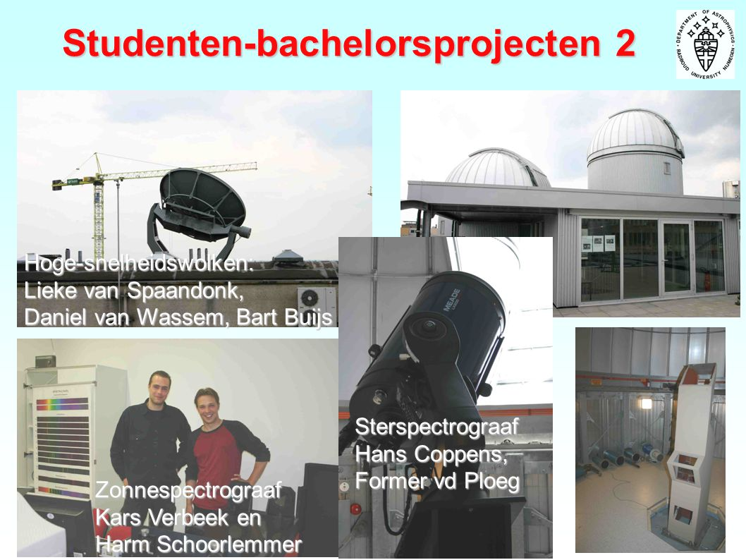 Studenten-bachelorsprojecten 2