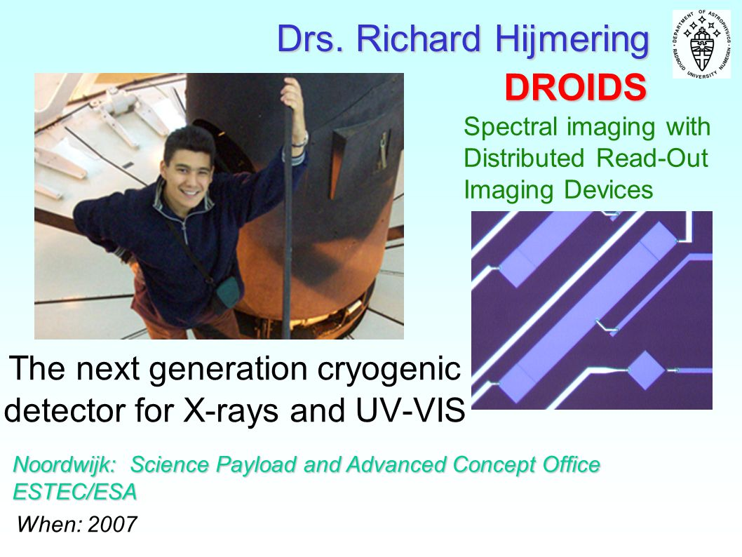 The next generation cryogenic detector for X-rays and UV-VIS