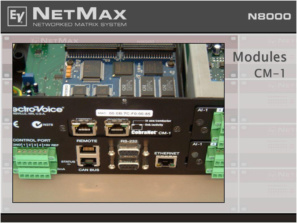 Modules CM-1