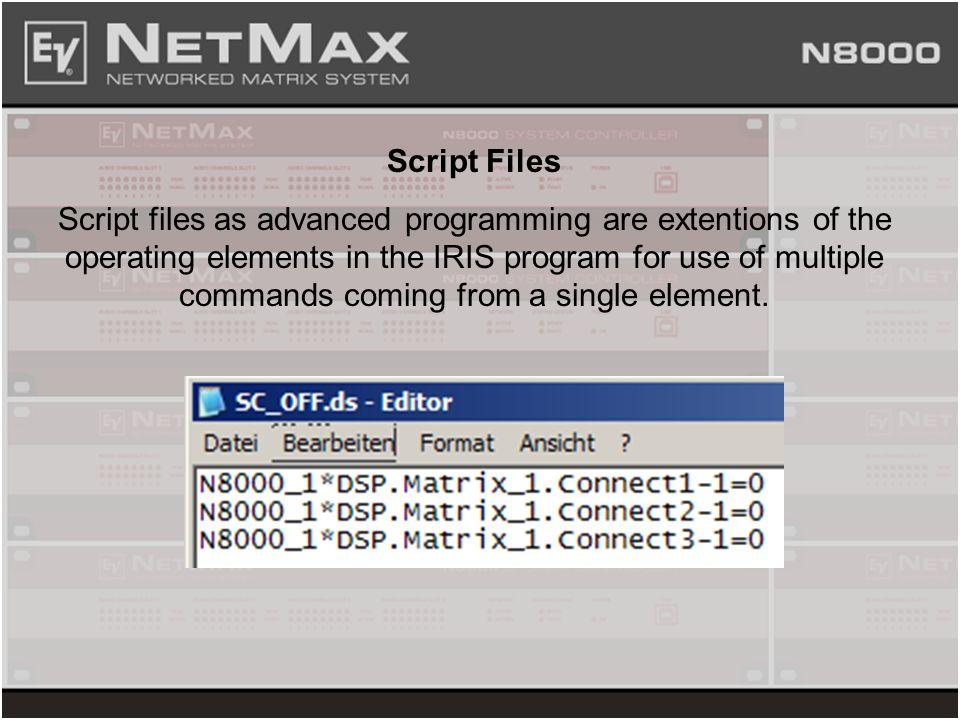 Script Files
