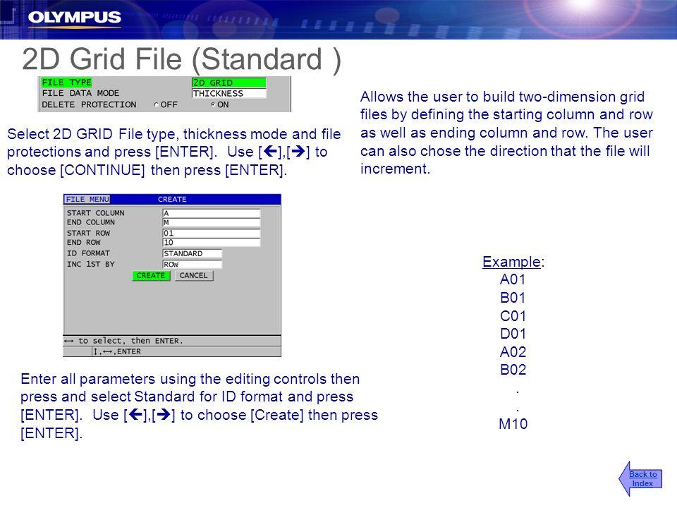 2017/3/25 2D Grid File (Standard )