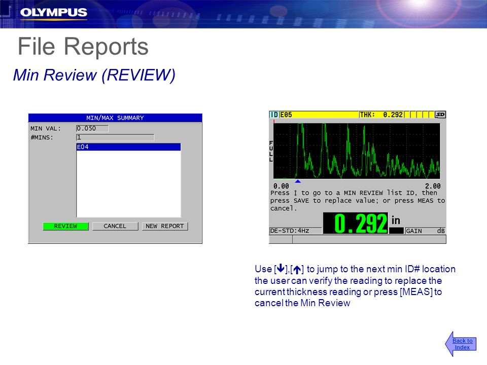File Reports Min Review (REVIEW)