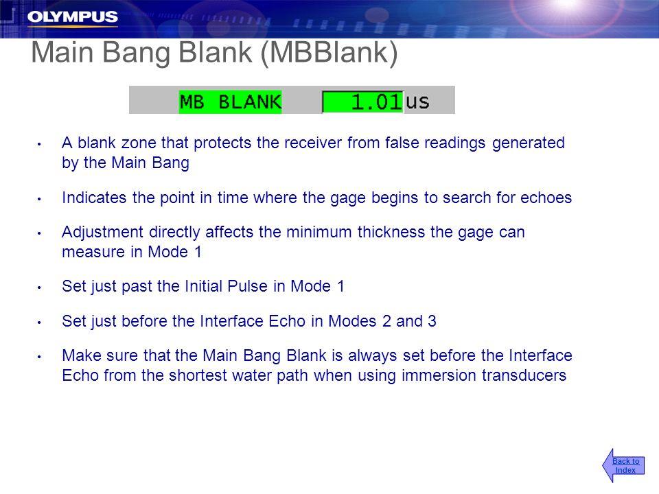 Main Bang Blank (MBBlank)