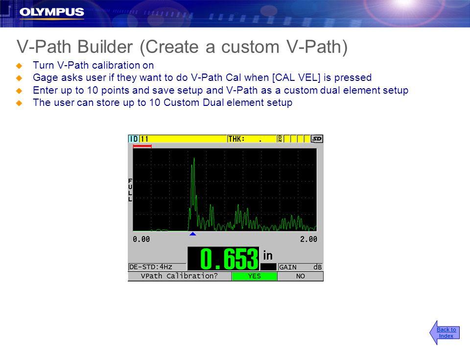 V-Path Builder (Create a custom V-Path)