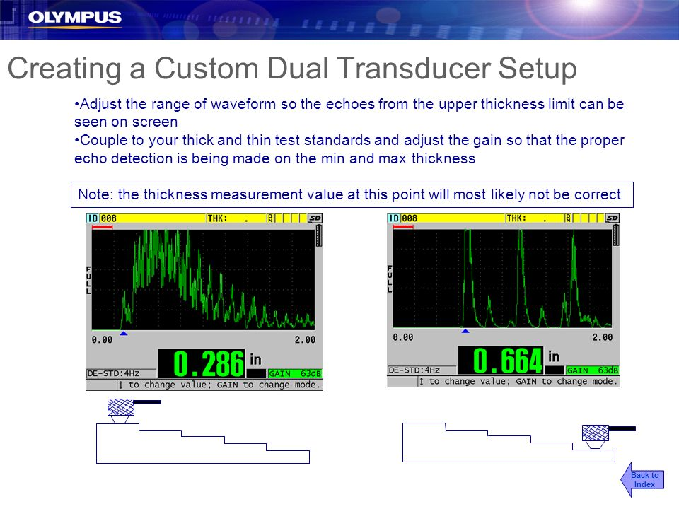 Creating a Custom Dual Transducer Setup
