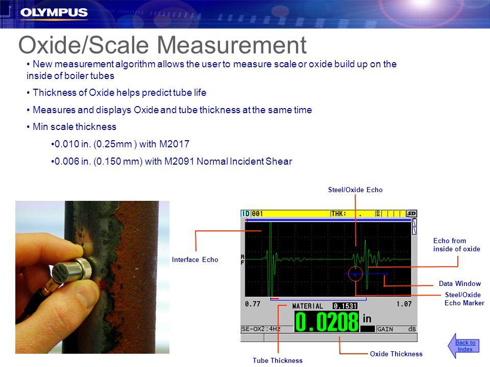 Oxide/Scale Measurement