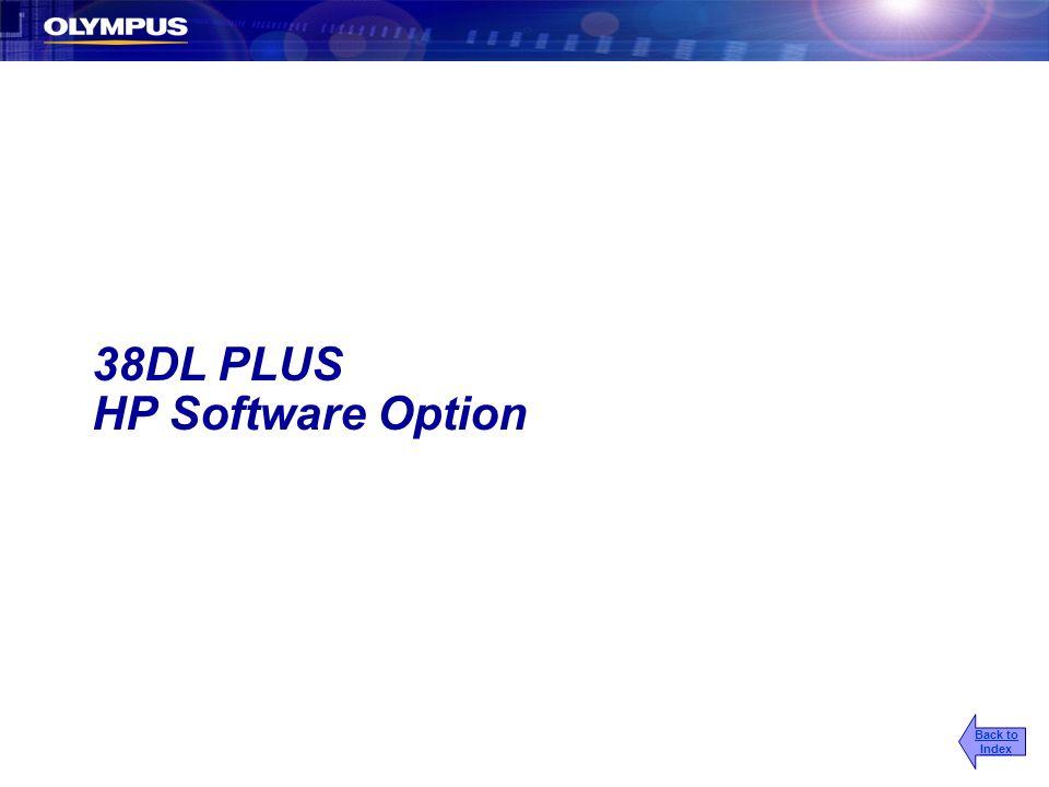 2017/3/25 38DL PLUS HP Software Option Back to Index