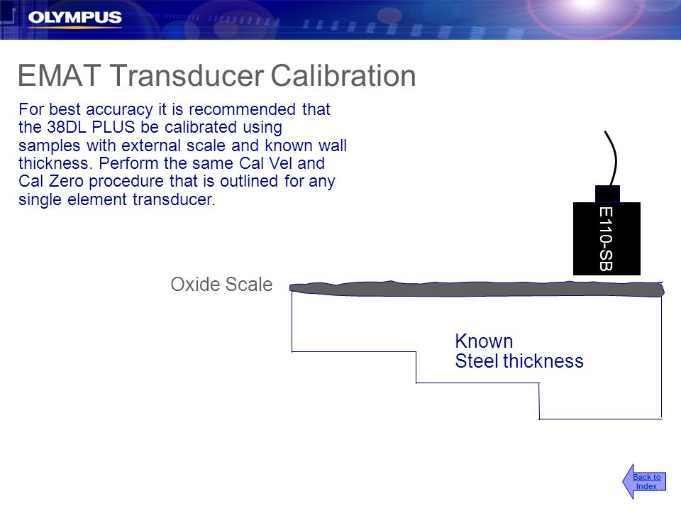 EMAT Transducer Calibration