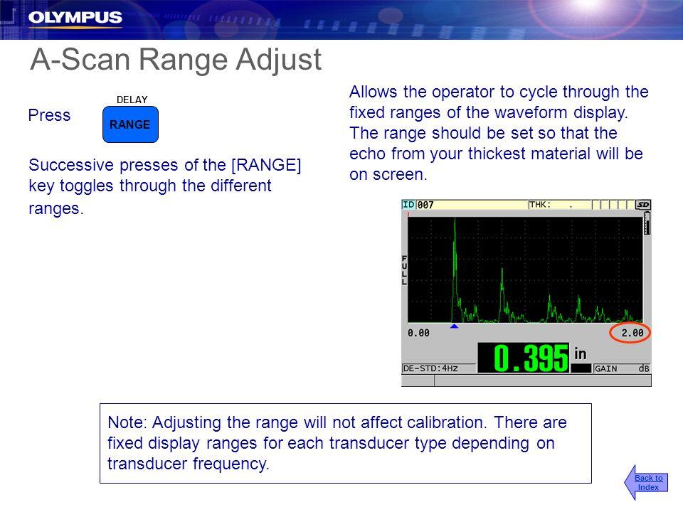 2017/3/25 A-Scan Range Adjust.
