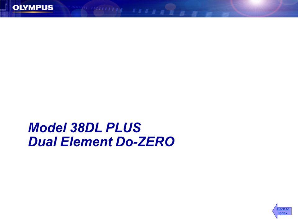 Model 38DL PLUS Dual Element Do-ZERO